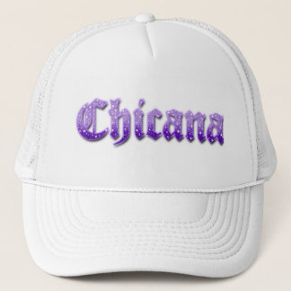 HattChicana glitter Keps