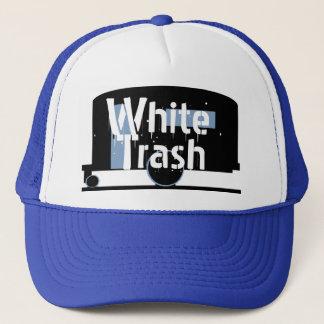 Hatten reser släpet som dricker lockvitsopor truckerkeps