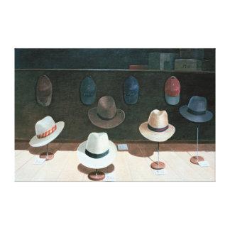 Hatten shoppar 1990 canvastryck