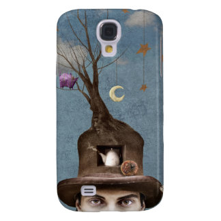Hatter iphone3 galaxy s4 fodral