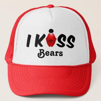 Hattkyssen kysser jag björnar truckerkeps