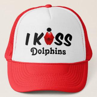 Hattkyssen kysser jag delfiner keps