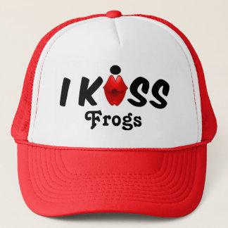 Hattkyssen kysser jag grodor truckerkeps