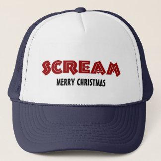 Hattskrigod jul truckerkeps