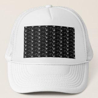 Hattsvartglitter Keps