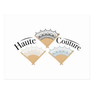 Haute Couture Vykort