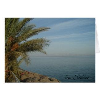 Hav av det Galilee kortet OBS Kort