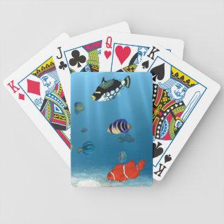Hav av fisken spelkort