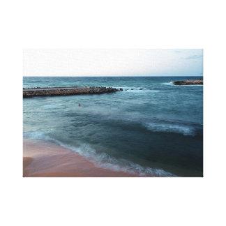 hav canvastryck