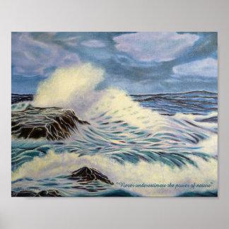 Hav - en styrka av naturen poster