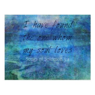 Hav för hav för Scripture för konst för Vykort