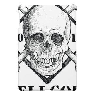 Hav för pirat för Wellcoda dräkt dött skelett- iPad Mini Skydd
