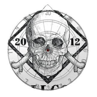 Hav för pirat för Wellcoda dräkt dött skelett- Piltavla