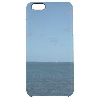 Hav för St Lucia horisontblått Clear iPhone 6 Plus Skal