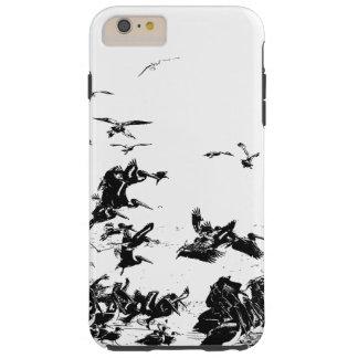 Hav för strand för djur för pelikanfågeldjurliv tough iPhone 6 plus skal