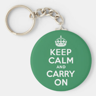 Hav grön 2E8B57 Rund Nyckelring