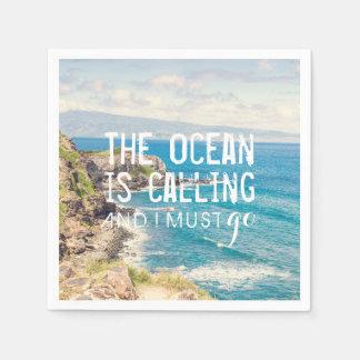 Hav kallar - Maui kusten | pappra servetter