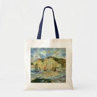 Hav och klippor Renoir vintageImpressionismkonst Kassar