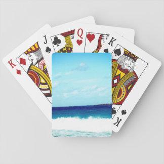 Hav och vinkar spelkort