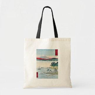 Hav på Miura i det Soshu landskapet vid Ando, Hiro Tote Bag
