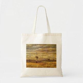 Hav på Scheveningen av Vincent Van Gogh Budget Tygkasse