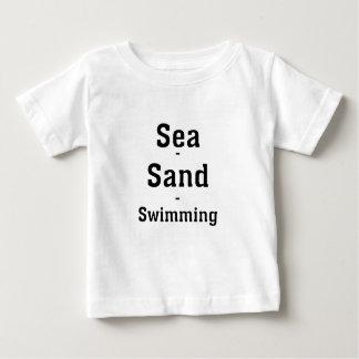Hav - Sand - simning Tee