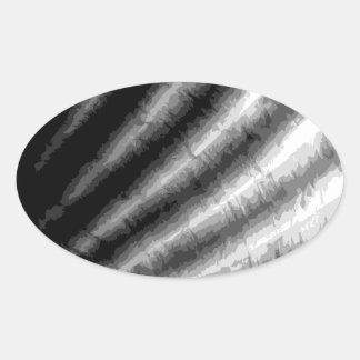 HAV-snäcka 3 Ovalt Klistermärke
