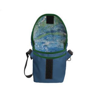 HavblåttEco messenger bag