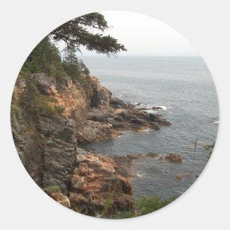 Havdrev i Acadia Runt Klistermärke