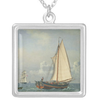 Havet, 1831 silverpläterat halsband