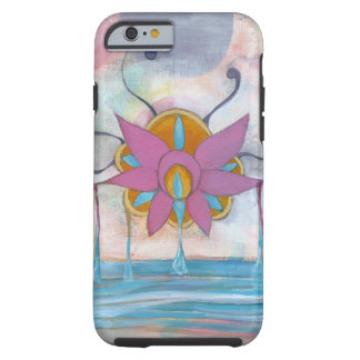 Havlotusblomma - original- konst tough iPhone 6 case
