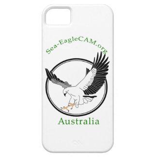 Havs-EagleCAMlogotypen ringer jag fodral iPhone 5 Skal