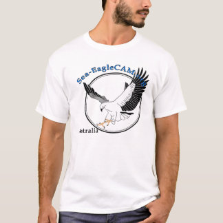 Havs-EagleCAMlogotypT-tröja T-shirts