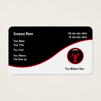 Havs- restaurang Businesscards Visitkort