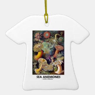 Havsanemoner T-Shirt Formad Julgransprydnad I Keramik