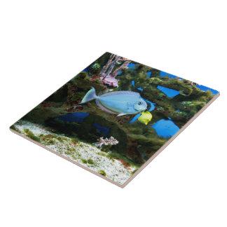 Havsblåttfisk Kakelplatta