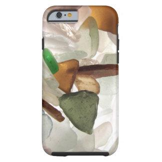 Havsexponeringsglas eller strandexponeringsglas tough iPhone 6 fodral