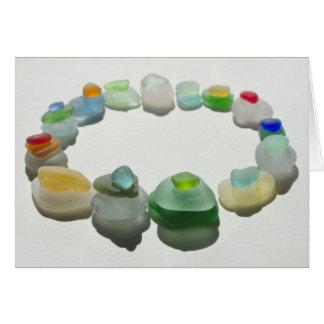 Havsexponeringsglas, strandexponeringsglas, hälsningskort