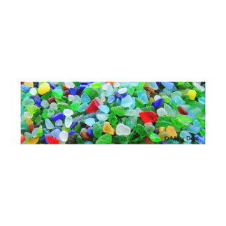 Havsexponeringsglasväggmålning Canvastryck