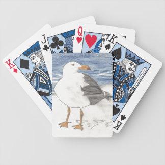 HAVSFISKMÅS som leker kort Spelkort