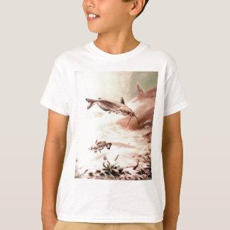 Havskatt för ungeT-tröjalodrät T Shirt