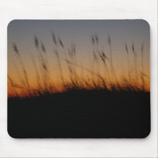 HavsOats och dyner på solnedgången Musmatta