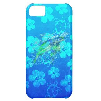 Havssköldpadda och blått Honu iPhone 5C Fodral