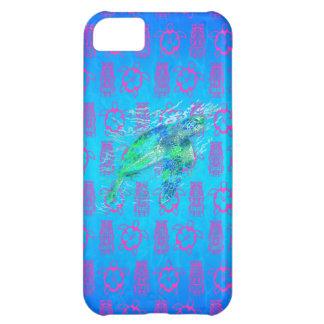 Havssköldpadda och Tiki iPhone 5C Fodral