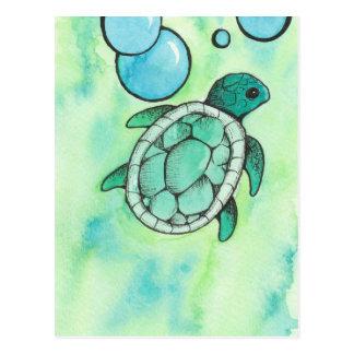 Havssköldpadda Vykort