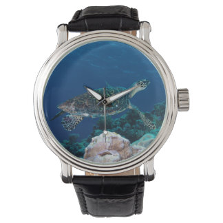 Havssköldpaddaklocka Armbandsur