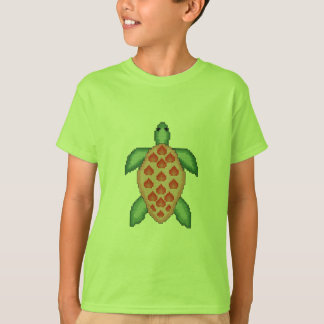 Havssköldpaddakor syr tee shirt