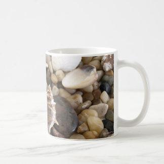 Havssnäckabakgrund Kaffemugg