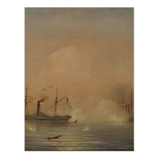 Havsstrid av Ivan Aivazovsky Vykort