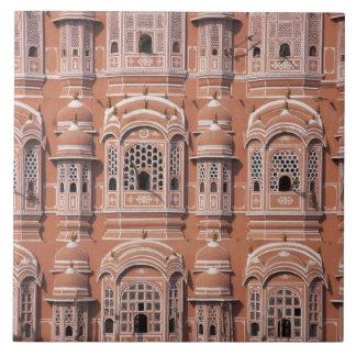 Hawa Mahal (slotten av vind), Jaipur 2 Kakelplatta
